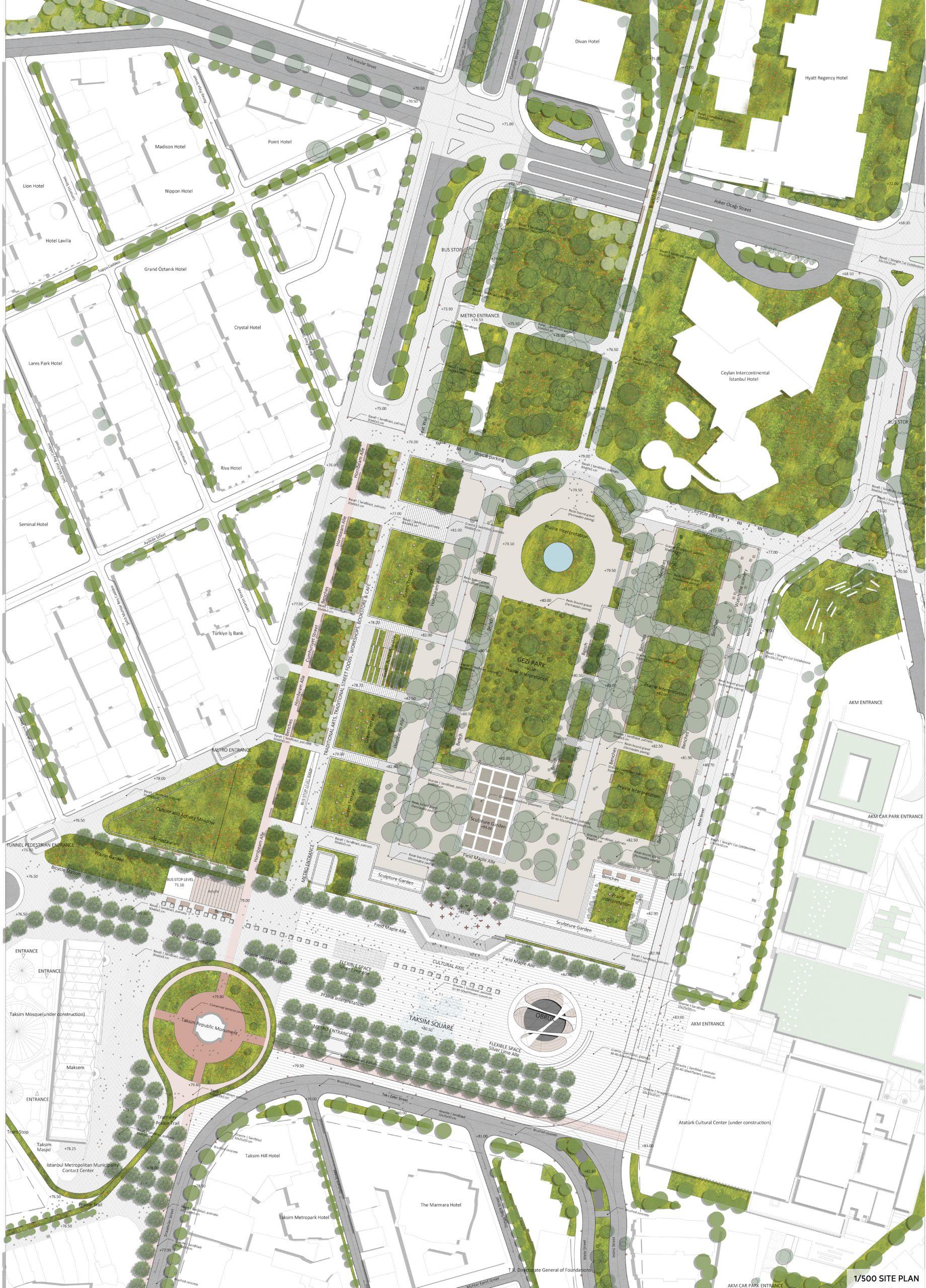 500-site plan